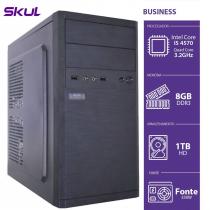 COMPUTADOR BUSINESS B500 - I5-4570 3.2GHZ 8GB DDR3 HD 1TB HDMI/VGA FONTE 350W - B45701T8 - 1