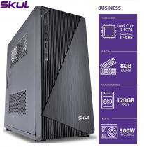 COMPUTADOR BUSINESS B700 - I7 4770 3.4GHZ 4ªGER MEM 8GB DDR3 SSD 120GB HDMI/VGA FONTE 300W - 1