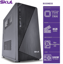 COMPUTADOR BUSINESS B700 - I7 4770 3.4GHZ 4ª GER MEM 8GB DDR3 SEM HD HDMI/VGA FONTE 300W - 1