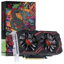 PLACA DE VIDEO NVIDIA GEFORCE GTX 1650 4GB GDDR5 128 BITS DUAL FAN GRAFFITI SERIES - PA1650GTX12804D5FS - 1