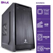 COMPUTADOR BUSINESS B500 - I5-9400 2.9GHZ 4GB DDR4 HD 500GB HDMI/VGA FONTE 350W - B94005004 - SKUL - 1