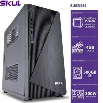 COMPUTADOR BUSINESS B500 - I5 9400 2.9GHZ MEM 4GB DDR4 HD 500GB HDMI/VGA FONTE 300W - 1