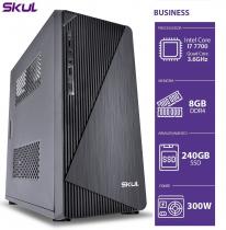 COMPUTADOR BUSINESS B700 - I7 7700 3.6GHZ 8GB DDR4 SSD 240 GB HDMI/VGA FONTE 300W - 1
