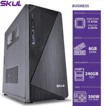 COMPUTADOR BUSINESS B700 - I7 8700 3.2GHZ 8ªGER MEM. 8GB DDR4 SSD 240GB HDMI/VGA FONTE 300W - 1