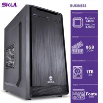 COMPUTADOR BUSINESS B500 - R5-2400G 3.6GHZ 8GB DDR4 HD 1TB HDMI/VGA FONTE 200W - B2400G1T8