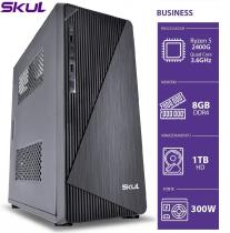COMPUTADOR BUSINESS B500 - RYZEN 5 2400G 3.6GHZ 8GB DDR4 HD 1TB HDMI/VGA FONTE 300W - 1