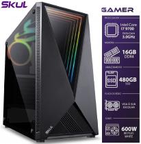 COMPUTADOR GAMER 7000 - I7 9700 3.0GHZ 9ª GER. MEM. 16GB DDR4 (2X 8GB) SSD 480GB SEM PLACA DE VÍDEO FONTE 600W - 1