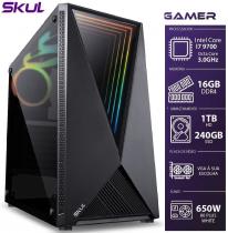 COMPUTADOR GAMER 7000 - I7 9700 3.0GHZ 9ª GER. MEM. 16GB DDR4 SSD 240GB HD 1TB FONTE 650W - 1