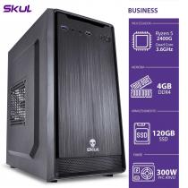 COMPUTADOR BUSINESS B500 - RYZEN 5 2400G 3.6GHZ 4GB DDR4 SSD 120GB HDMI/VGA FONTE 300W PFC ATIVO - 1
