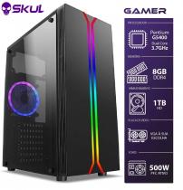 COMPUTADOR GAMER 1000 - PENTIUM G5400 3.7GHZ 8ª GER. MEM. 8GB DDR4 HD 1TB FONTE 500W - 1