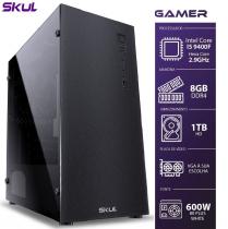 COMPUTADOR GAMER 5000 - I5 9400F 2.9GHZ 9ª GER. SEM VIDEO INTEGRADO MEM. 8GB DDR4 HD 1TB FONTE 600W - 1