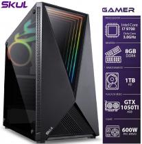 COMPUTADOR GAMER 7000 - I7 9700 3.0GHZ 9ª GER. MEM. 8GB DDR4 HD 1TB GTX 1050TI 4GB FONTE 600W WHITE - 1