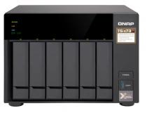 SERVIDOR QNAP NAS TS-673-8G AMD R-SERIES RX-421 ND QUAD-CORE 2.1 GHZ (ATÉ 3,4 GHZ COM TURBO CORE) 8 GB DDR4