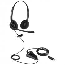 HEADSET BIAURICULAR CHS 60B USB 4010060 - 1