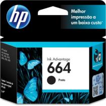 CARTUCHO F6V29AB HP 664 PRETO - 1