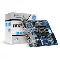 PLACA MÃE MINI-ITX IPX1800G2 COM PROCESSADOR J1800 2.41GHZ INTEGRADO DDR3 SODIMM 10/100/1000, 4USB 2.0, 1HDMI, 1 VGA - 1