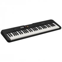 TECLADO MUSICAL CASIOTONE BASICO DIGITAL CT-S200BKC2-BR PRETO - 1