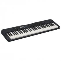 TECLADO MUSICAL CASIOTONE BASICO DIGITAL CT-S300C2-BR PRETO - 1