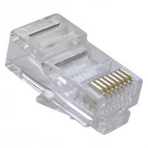 CONECTOR RJ45 CAT.5E MACHO (PCT COM 10) - 1