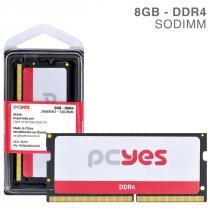 MEMORIA PCYES SODIMM 8GB DDR4 2666MHZ - PM082666D4SO - 1