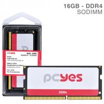 MEMORIA PCYES SODIMM 16GB DDR4 2666MHZ - PM162666D4SO - 1