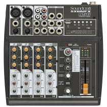 MESA DE SOM ANALOGICA 6 CANAIS SX602FX-USB