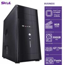 COMPUTADOR BUSINESS B500 - I5-9400F 2.9GHZ 8GB DDR4 HD 500GB GT 730 4GB FONTE 500W - 1