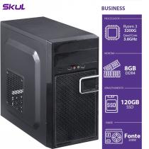 COMPUTADOR BUSINESS B300 - R3-3200G 3.6GHZ 8GB DDR4 SSD 120GB HD 1TB HDMI/VGA FONTE 200W - 1