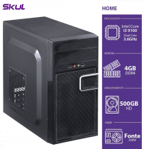 COMPUTADOR BUSINESS B300 - I3-9100 3.6GHZ 4GB DDR4 HD 500GB HDMI/VGA FONTE 200W - B91005004