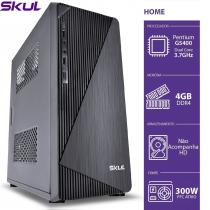 COMPUTADOR HOME H200 - PENTIUM DUAL CORE G5400 3.7GHZ MEM 4GB DDR4 SEM HD/SSD HDMI/VGA FONTE 250W - 1