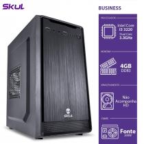 COMPUTADOR BUSINESS B300 - I3-3220 3.3GHZ 4GB DDR3 SEM HD HDMI/VGA FONTE 200W - B32204 - 1