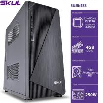 COMPUTADOR BUSINESS B300 - I3 3220 3.3GHZ MEM 4GB DDR3 SEM HD/SSD HDMI/VGA FONTE 250W - 1