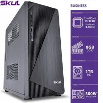 COMPUTADOR BUSINESS B300 - I3 3220 3.3GHZ 3ªGER MEM 8GB DDR3 HD 1TB HDMI/VGA FONTE 300W - 1