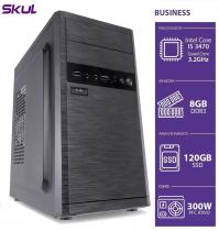 COMPUTADOR BUSINESS B500 - I5 3470 3.2GHZ 3ªGER MEM 8GB DDR3 SSD 120GB HDMI/VGA FONTE 300W - 1