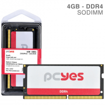 MEMORIA PCYES SODIMM 4GB DDR4 2666MHZ - PM042666D4SO - 1