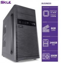 COMPUTADOR BUSINESS B500 - I5 3470 3.2GHZ 8GB DDR3 SSD 240GB HDMI/VGA FONTE 300W - 1