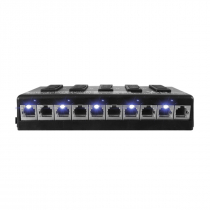 PATCH PANEL POE 5 PORTAS FAST ETHERNET 12.01.002 - 1
