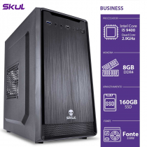 COMPUTADOR BUSINESS B500 - I5-9400 2.9GHZ 8GB DDR4 SSD 160 HDMI/VGA FONTE 350W - B94001608 - 1