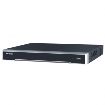 GRAVADOR DIGITAL NVR 16 CANAIS IP 8MP POE S/HD H265+ DS-7616NI-Q2/16P - 1