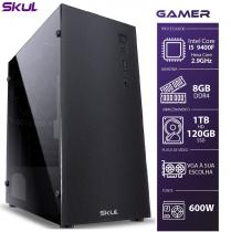 COMPUTADOR GAMER 5000 - I5 9400F 2.9GHZ 9ª GER. MEM. 8GB DDR4 HD 1TB SSD 120GB FONTE 600W WHITE - 1