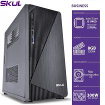 COMPUTADOR BUSINESS B500 - I5 9400 2.9GHZ 9ªGER MEM 8GB DDR4 SEM HD/SSD HDMI/VGA FONTE 300W - 1