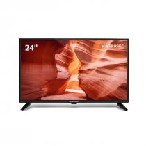 """MONITOR/TV 24"""" HD 1366X768 HDMI COM CONVERSOR DIGITAL BIVOLT TL016 - 1"""