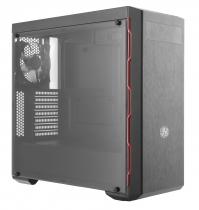 GABINETE MASTERBOX MB600L - COM ODD - BORDA RED - MCB-B600L-KA5N-S00 - 1