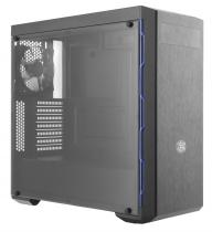 GABINETE MASTERBOX MB600L - COM ODD - BORDA BLUE -  MCB-B600L-KA5N-S01 - 1