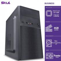 COMPUTADOR BUSINESS B300 - I3 7100 3.9GHZ MEM 4GB DDR4 SEM HD/SSD HDMI/VGA FONTE 200W - 1