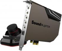 PLACA DE SOM PCI-E - SOUND BLASTER AE-7 - AMPLIFICADOR DE ALTA RESOLUÇÃO COM MÓDULO DE CONTROLE DE ÁUDIO - 70SB180000000 - 1