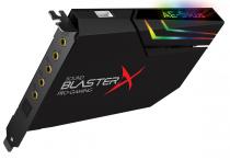 PLACA DE SOM PCI-E - SOUND BLASTER X AE-5 PLUS- RGB - 70SB174000003 - 1