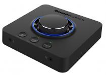 PLACA DE SOM - SOUND BLASTER X3 -  7.1 USB EXTERNO - DE AMPLIFICADOR COM SUPER X-FI® PARA PC E MAC -70SB181000000 - 1