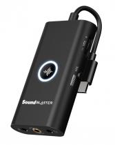 PLACA DE SOM - SOUND BLASTER G3 - PORTÁTIL USB-C PARA PS4, SWITCH, PC E MAC -70SB183000000 - 1