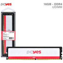 MEMORIA PCYES UDIMM 16GB DDR4 3200MHZ - PM163200D4 - 1
